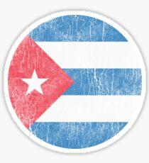 Cuba - Flag Sticker