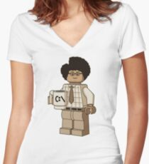 I am a Giddy Goat! Women's Fitted V-Neck T-Shirt