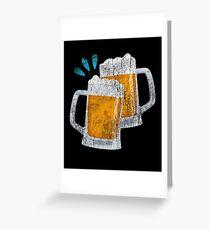 Beer Drinking, St. Patricks Day Greeting Card