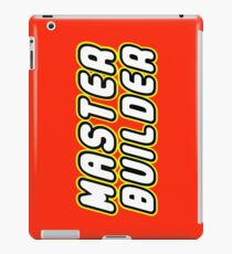 MASTER BUILDER iPad Case/Skin