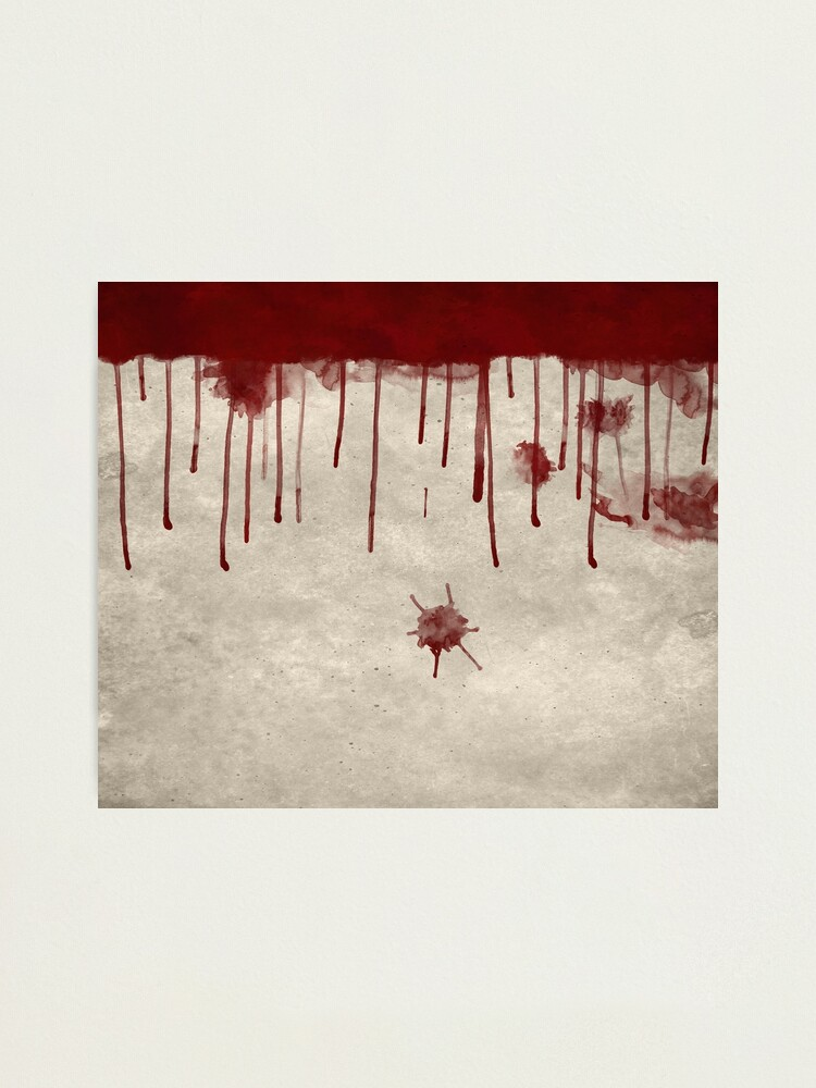 Bloody Murder Violent Blood Splatter Texture Photographic Print By Carlhuber Redbubble A set of free blood splatter texture. bloody murder violent blood splatter texture photographic print by carlhuber redbubble