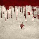 Bloody Murder Violent Blood Splatter Texture by Carl Huber