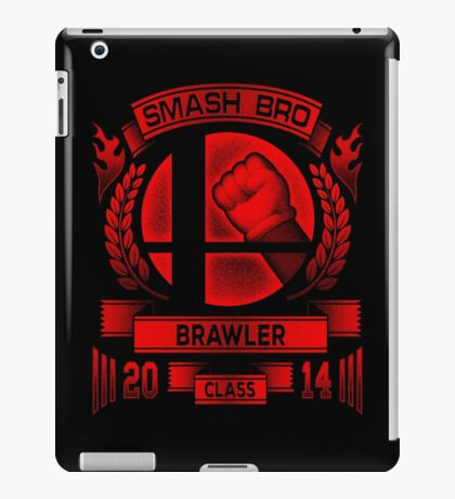Smash Bro Brawler iPad Case/Skin