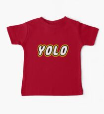 YOLO by Customize My Minifig Baby Tee