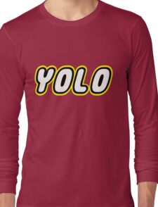 YOLO by Customize My Minifig Long Sleeve T-Shirt
