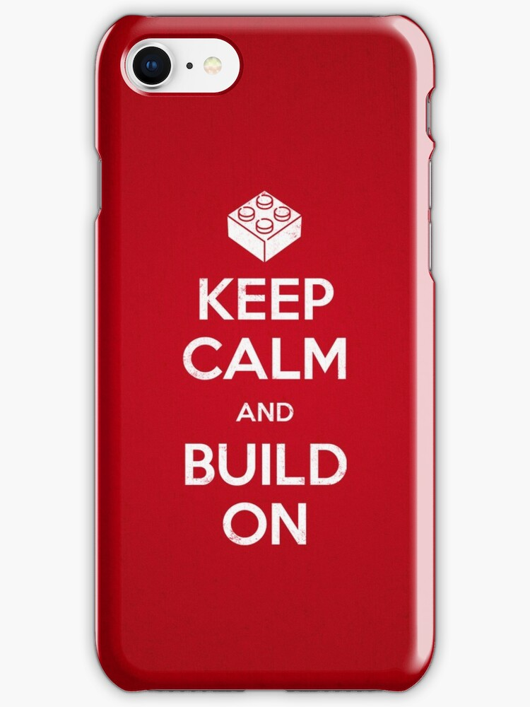 Keep Calm and Build On by powerpig