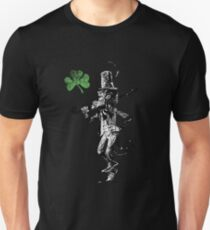 Leprechaun and Shamrock, St. Patricks Day T-Shirt