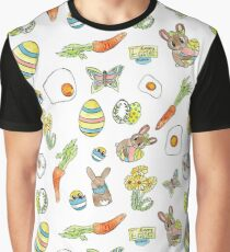 Happy Easter Grafik T-Shirt