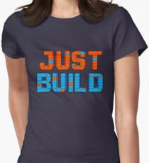 Just Build Women's Fitted T-Shirt