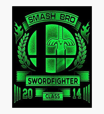Smash Bro Swordfighter Photographic Print