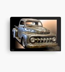 1951 Ford F100 Pickup Metal Print