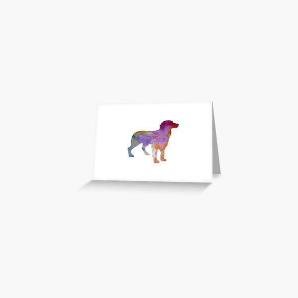 Brittany Spaniel Greeting Card