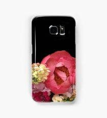 Peonie, flock and roses multi floral Samsung Galaxy Case/Skin