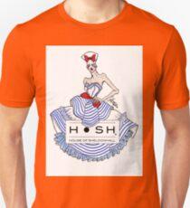 Sailor Girl with House of SheldonHall Logo T-Shirt