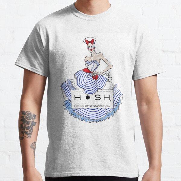 Sailor Girl with House of SheldonHall Logo Classic T-Shirt