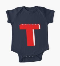 THE LETTER T by Customize My Minifig Kids Clothes