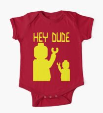 Minifig Hey Dude One Piece - Short Sleeve