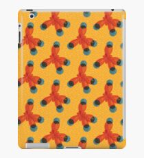 Just An Orange Methane Molecule iPad Case/Skin