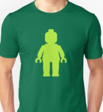 Minifig [Lime Green]  Unisex T-Shirt