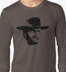 Clint Eastwood Long Sleeve T-Shirt