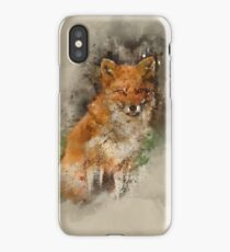 Watercolor Fox iPhone Case/Skin