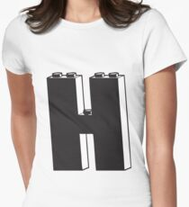 THE LETTER H  Womens Fitted T-Shirt