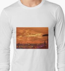 Shipboard Sunset Long Sleeve T-Shirt