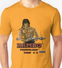 Gaming [C64] - Rambo First Blood Part 2 Unisex T-Shirt