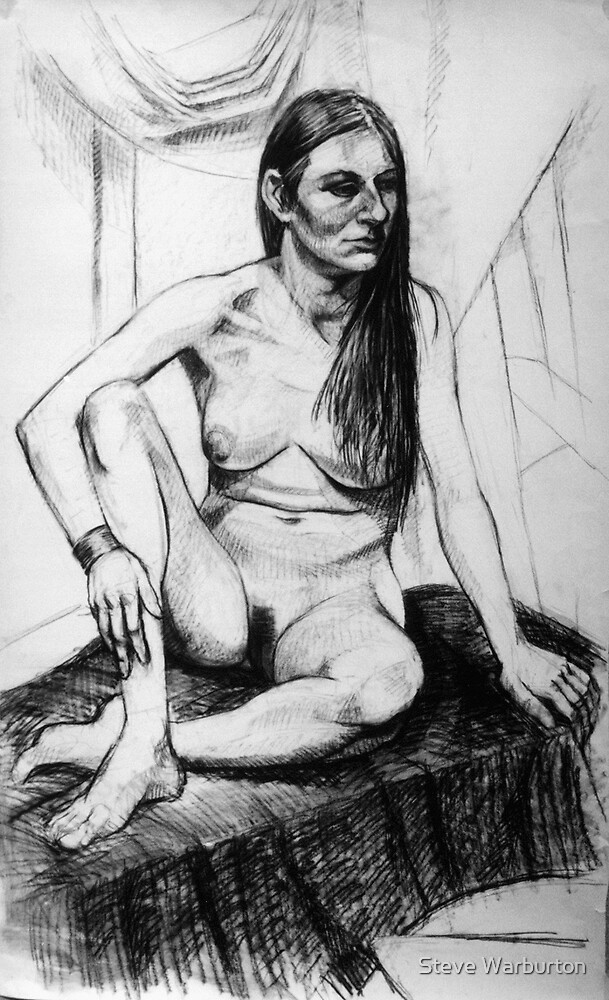 Life Drawing 1 by Steve Warburton