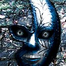 Blue Mask by lizart-designs