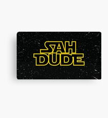 SAH DUDE (star wars) Canvas Print