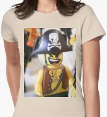Pirate Captain Minifigure with Flame T-Shirt