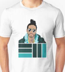 Russ Flat Cartoon  T-Shirt