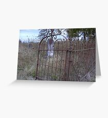 Disrepair. Greeting Card