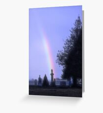 Whats really at the end of the rainbow. Greeting Card