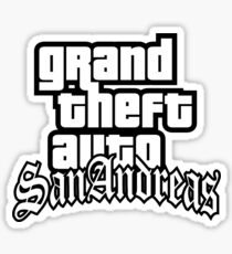 GTA San Andreas Sticker