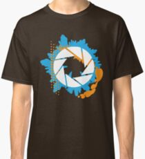 Portal - Abstract Aperture Logo Classic T-Shirt