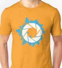 Portal - Abstract Aperture Logo Unisex T-Shirt
