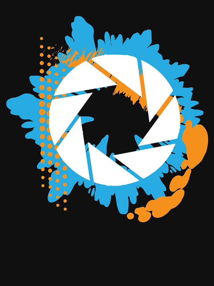 Portal - Abstract Aperture Logo | Unisex T-Shirt