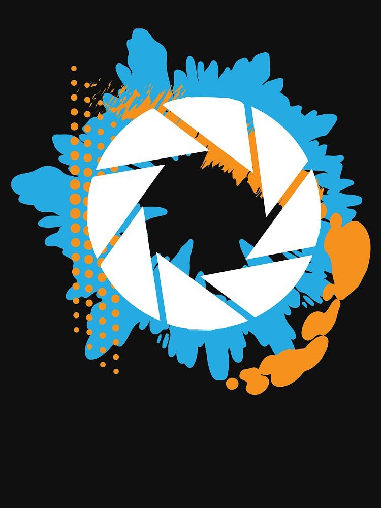 Portal - Abstract Aperture Logo | Unisex T-Shirt