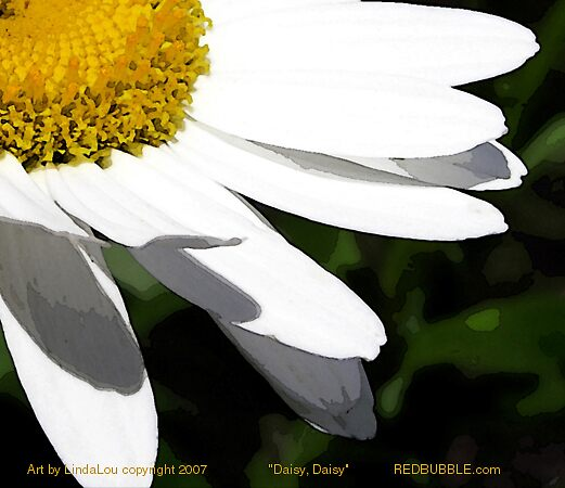 Daisy , Daisy for Flower Power by LindaLou1952