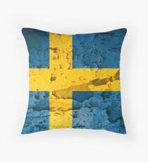 SWEDEN-2 Throw Pillow