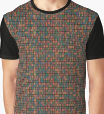 Retro Copy Protection Pattern Design Graphic T-Shirt