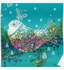 Partridge in a Pear Tree Poster