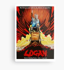 Logan Assassin Metal Print