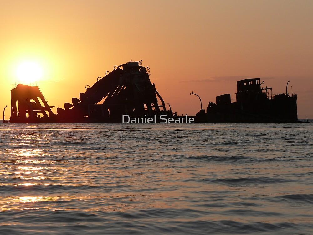 Moreton Island Wreck, Moreton Island Qld by Daniel Searle