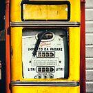 Old Italian Gas pump by Silvia Ganora