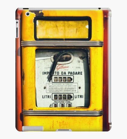 Old Italian Gas pump iPad Case/Skin