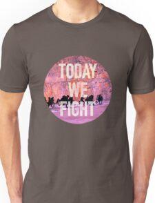 Today We Fight (Circle) - Bangtan BTS Unisex T-Shirt