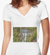 Wild River Women's Fitted V-Neck T-Shirt